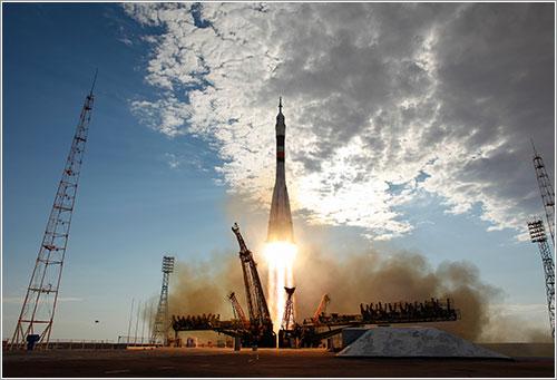 Lanzamiento de la Soyuz TMA-05M