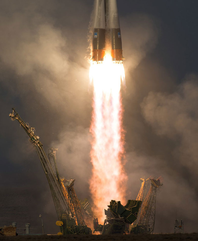 Despegue de la Soyuz TMA-19M