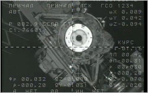 MagISStra docking - ESA