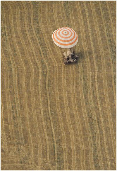 Aterrizaje - NASA/Carla Cioffi