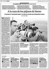 A la caza de los pájaros de hierro por Alba Suárez / IG