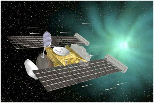 Impresión artística de la sonda en acción - NASA