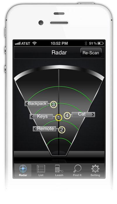 App Stick-N-Find