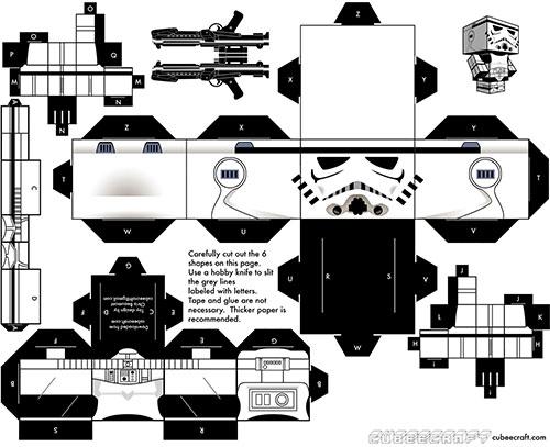 Stormtrooper por Christopher Beaumont
