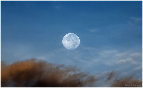 Supermoon por Heny Weiland