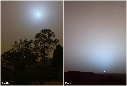 Sydney-Earth-Mars