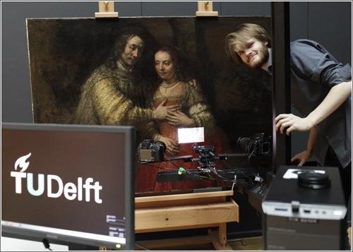 Esta impresora 3D puede copiar pincelada por pincelada cualquier pintura artística