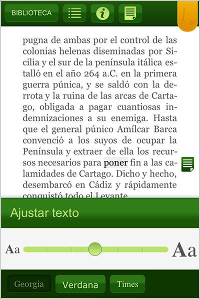 Tagus en iOS