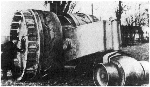Tanque Treffas-Wagen