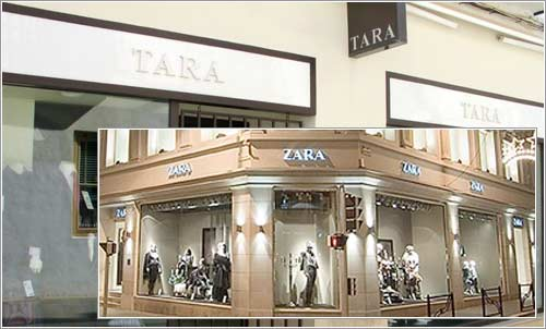 Tara vs Zara © pepe perezoso / Inditex