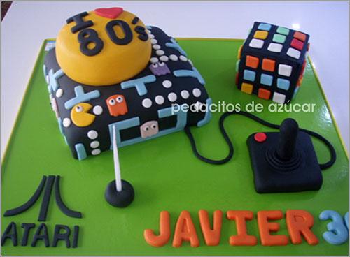 80's cake por Pedacitos de Azúcar