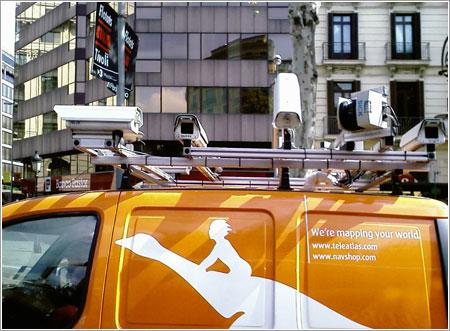 Tele Atlas en Barcelona por Alex Vilar