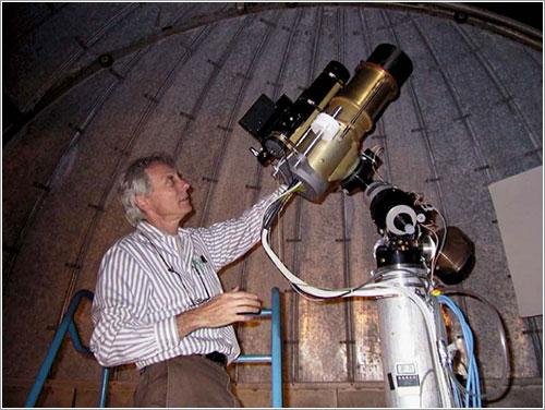Un telescopio construido para demostrar la viabilidad de Kepler