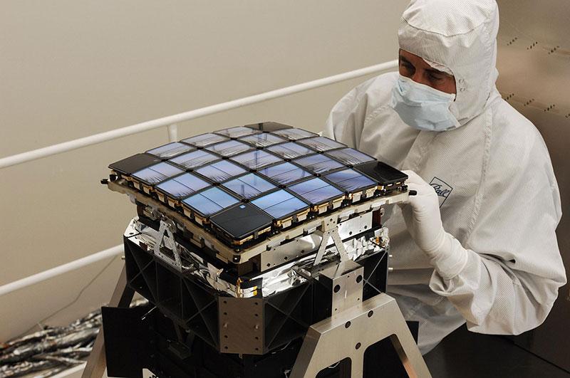 La cámara del Kepler
