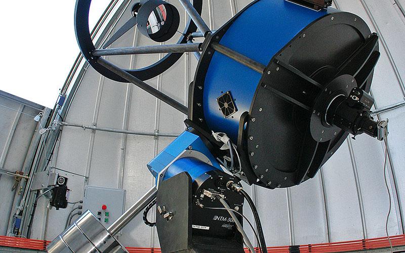 El telescopio Trappist