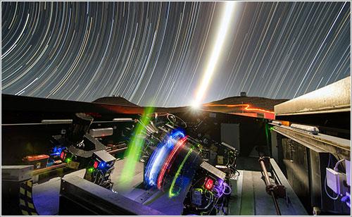 Los telescopios del NGTS en acción