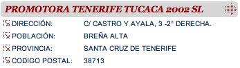 Promotora Tenerife Tucaca