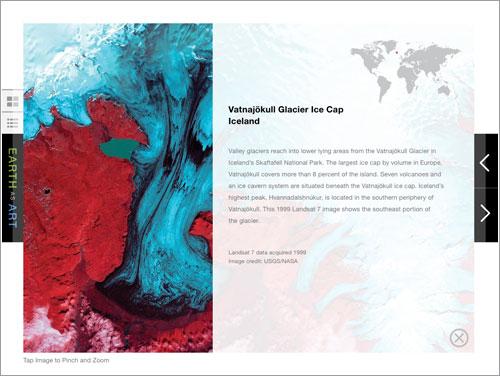 La Tierra como Arte para iPad