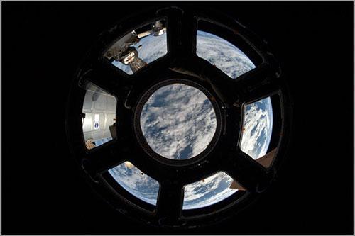 La Tierra a través de la Cúpula