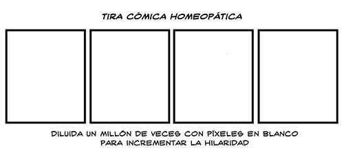 Tira cómica homeopatica por Luke Surl