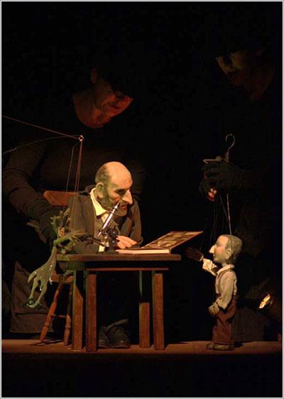 Cajal, el rey de los nervios por Los títeres de la tía Elena