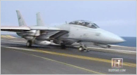 Tomcat sunset - History Channel