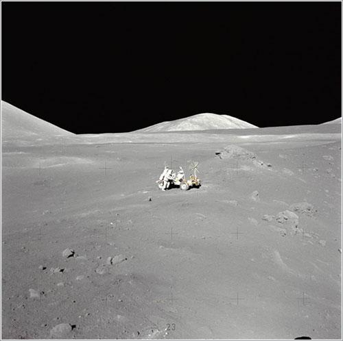 Harrison Schmitt en la Luna - NASA