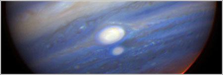 Tormentas en Júpiter