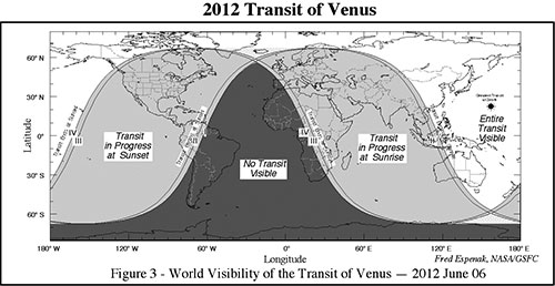 Tránsito de Venus de 2012 - NASA/Fred Espenak