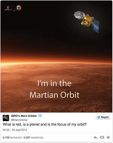 MOM en Marte