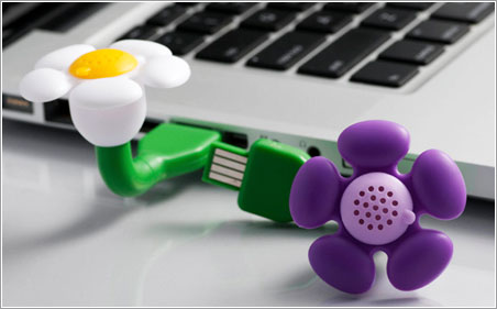 USB Scent Flower