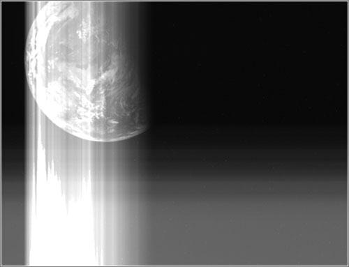 Ultima foto desde la sonda - JAXA