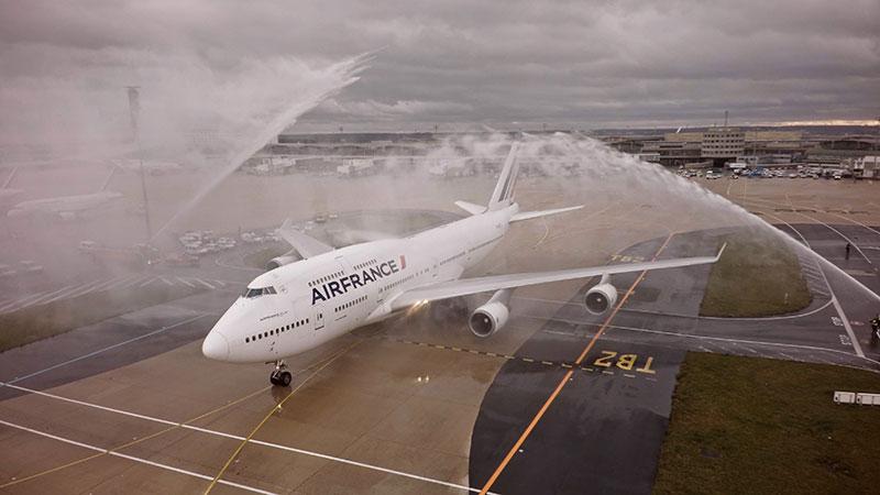 El último 747 de Air France