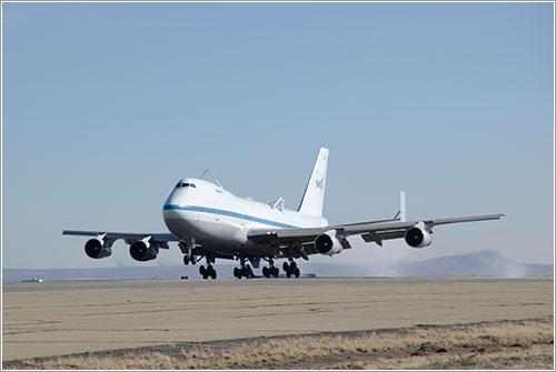 Último aterrizaje del NASA 911 - NASA/Tony Landis