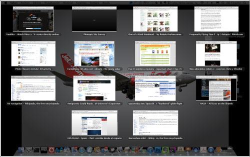Una pantalla, muchas ventanas, y muchas pestañas