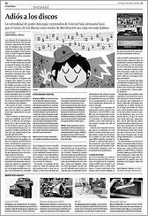 La Voz de Galicia 26 de octubre de 2008