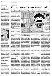 La Voz de Galicia 15 de diciembre de 2008