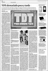 La Voz de Galicia 28 de diciembre de 2008