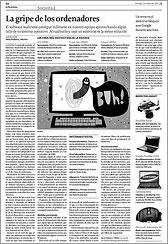 La Voz de Galicia 1-2-2009