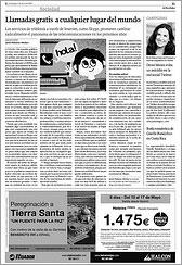 La Voz de Galicia 5-4-2009