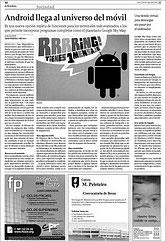 La Voz de Galicia 18-5-2009