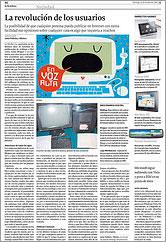 La Voz de Galicia 12 de octubre de 2008