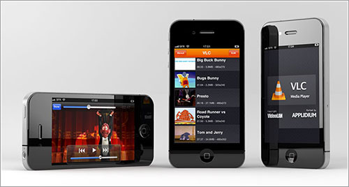 VLC en un iPhone 4