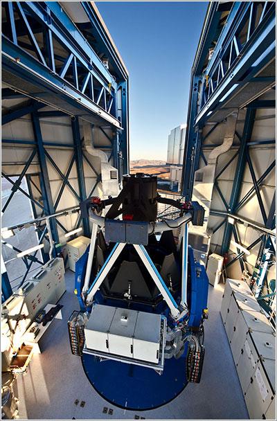 El nuevo telescopio