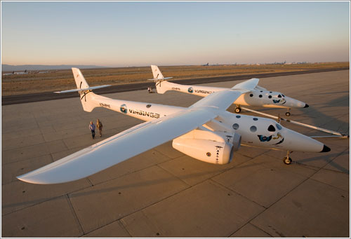 VMS Eve - Virgin Galactic