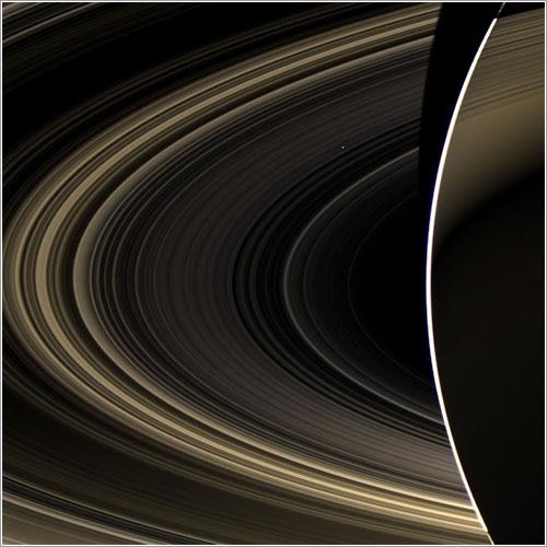 Venus desde Saturno
