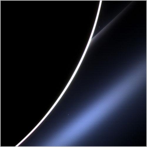 Otra foto de Venus desde Saturno