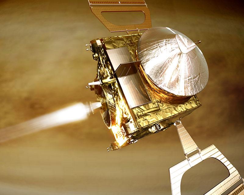 Inserción orbital de la Venus Express