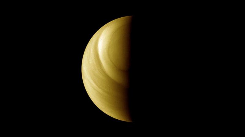 Venus visto por la Venus Express