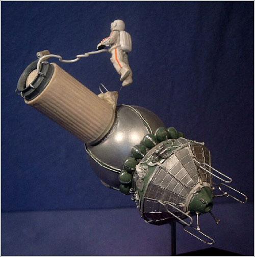 Modelode la Voskhod 2 por Barry Davidoff